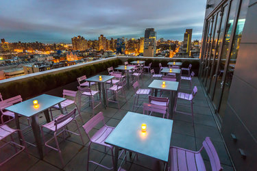 This Lower East Side Venue Is A Jack Of All Trades With An Amazing View Downtown Manhattan Enjoy Specialty Tails Like Their Hot Maple Whiskey Smash