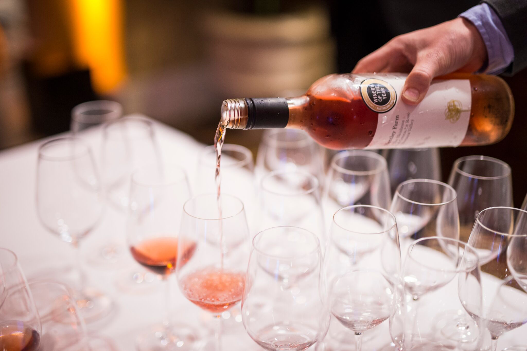 Rose flows at the Pebble Beach Food & Wine