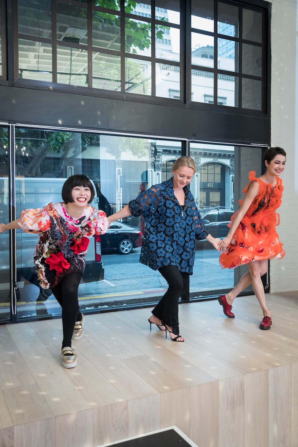 Tokyo Gamine Stages Chic Ballet Fashion Show At Pia The Store