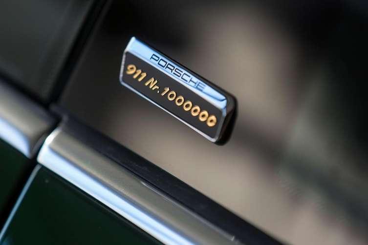 1 millionth Porsche 911