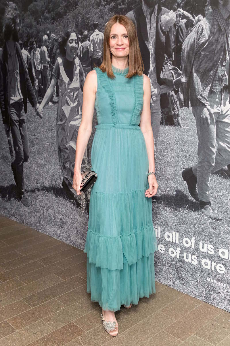 Plum Sykes attends the Spring Gala at the de Young Museum