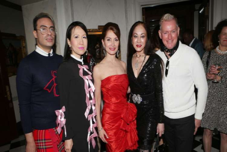 Victor de Souza, Chiu-Ti Jansen, Jean Shafiroff, Lucia Hwong Gordon, Montgomery Frazier== Martin and Jean Shafiroff Host Cocktails for American Heart Association== Private Residence, NYC== May 22, 2017== ©Patrick McMullan== Photo - Krista Kennell/PMC== ==