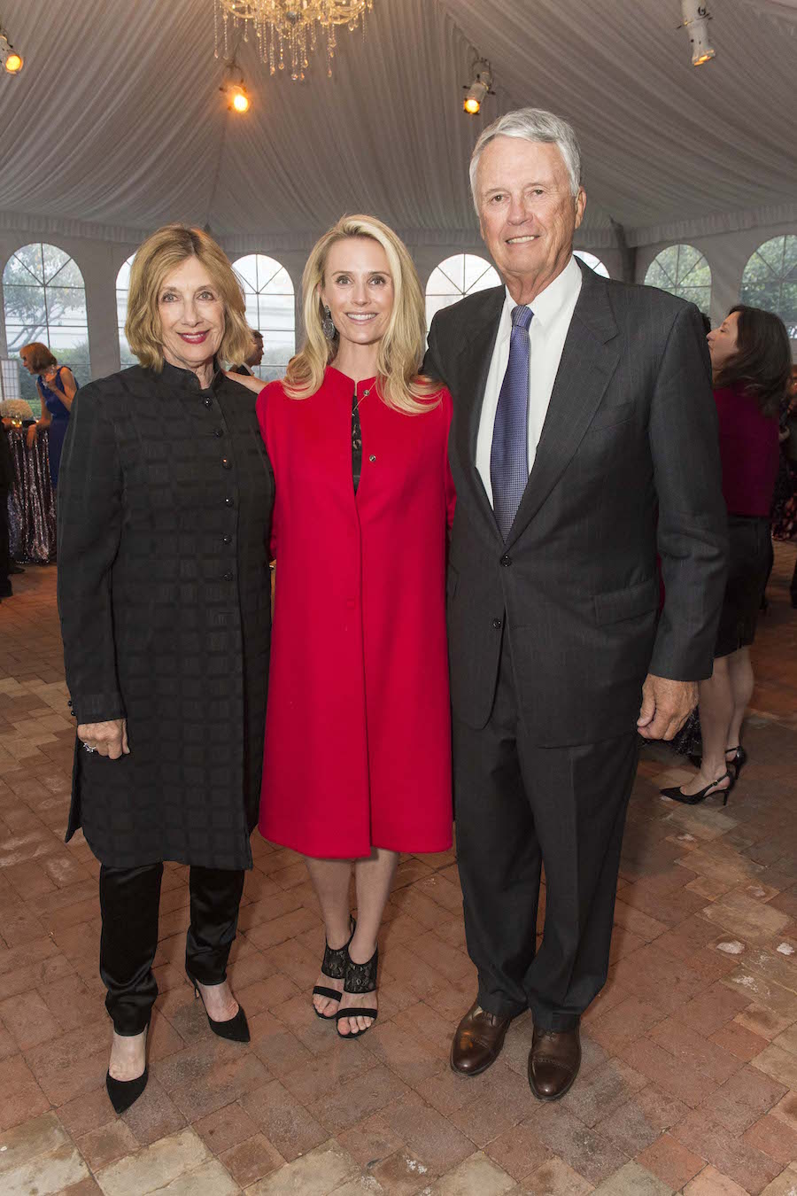 Judy Siebel, Jennifer Siebel Newsom and Ken Siebel
