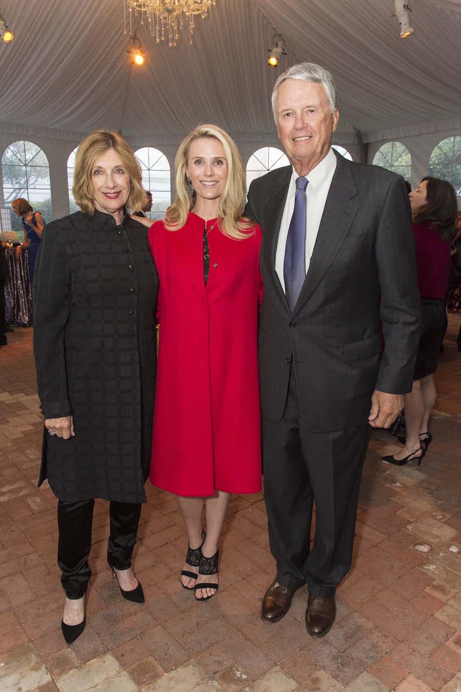 Judy Siebel, Jennifer Siebel Newsom and Ken Siebel