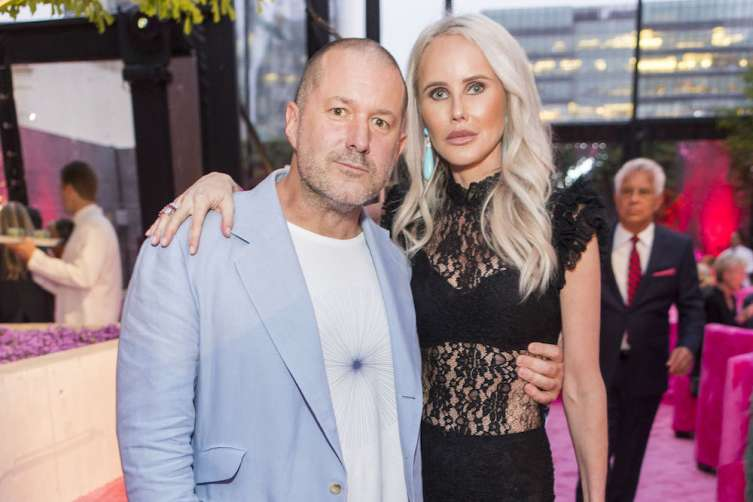 SAN FRANCISCO, CALIFORNIA - April 26 -  Jony Ive and Vanessa Getty attend SFMOMA Birthday Bash on April 26th 2017 at SFMOMA in San Francisco, California (Photo - Devlin Shand for Drew Altizer Photography)