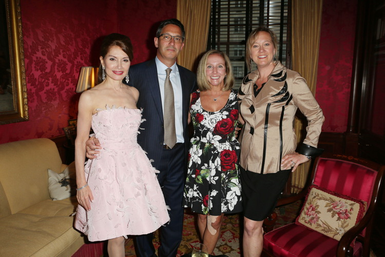 Jean Shafiroff, Ralph Mosca, Lori Mosca, Barbara Hollywater== Martin and Jean Shafiroff Host Cocktails for American Heart Association== Private Residence, NYC== May 22, 2017== ©Patrick McMullan== Photo - Krista Kennell/PMC== ==