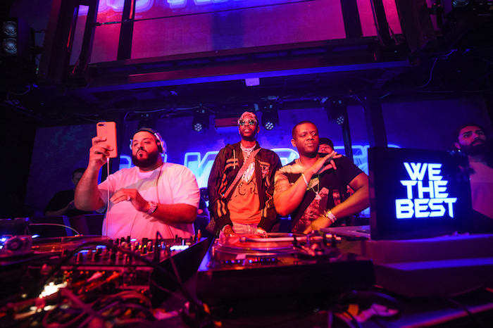 DJ Khaled and 2 Chainz perform at Marquee.
