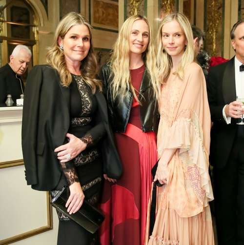 Aerin Lauder, Jeanne Williams. Meredith Melling