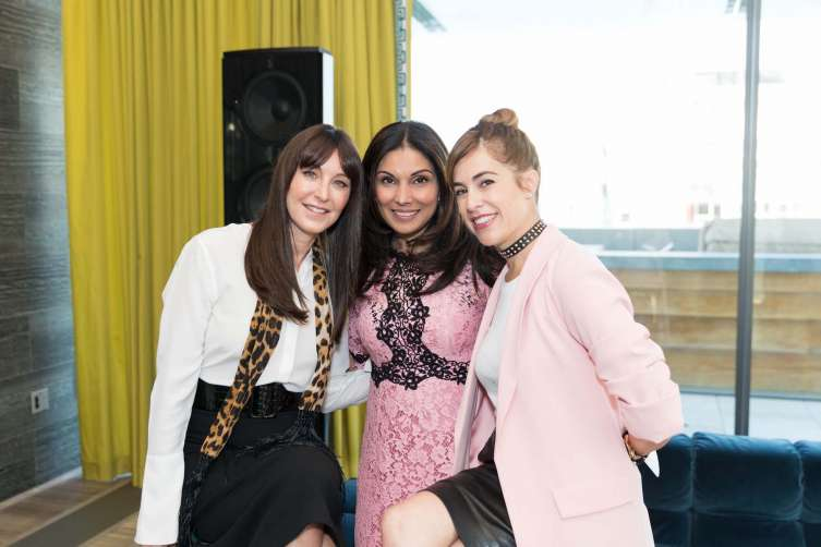 SAN FRANCISCO, CALIFORNIA - May 9 -  Tamara Collins, Shelly Kapoor Collins and Alison Pincus attend Shatter Summit on May 9th 2017 at The Battery Club in San Francisco, California (Photo - Drew Altizer)