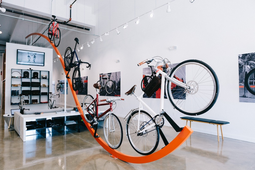 Superior Bike Shop in Wynwood