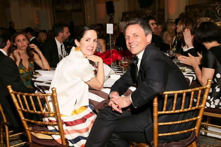 Patricia Herrera Lansing, Seth Meyers