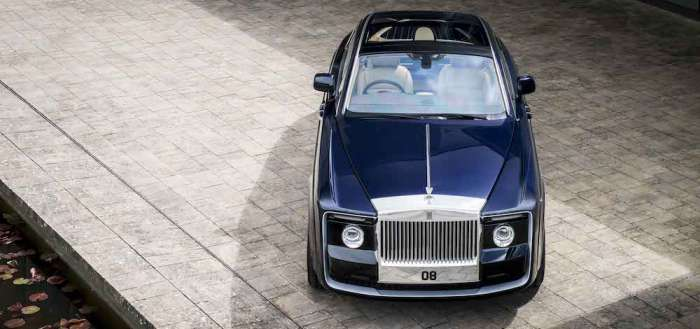 "Rolls-Royce ""Sweptail"": Back To The Future Of Ultimate Bespoke Cars"