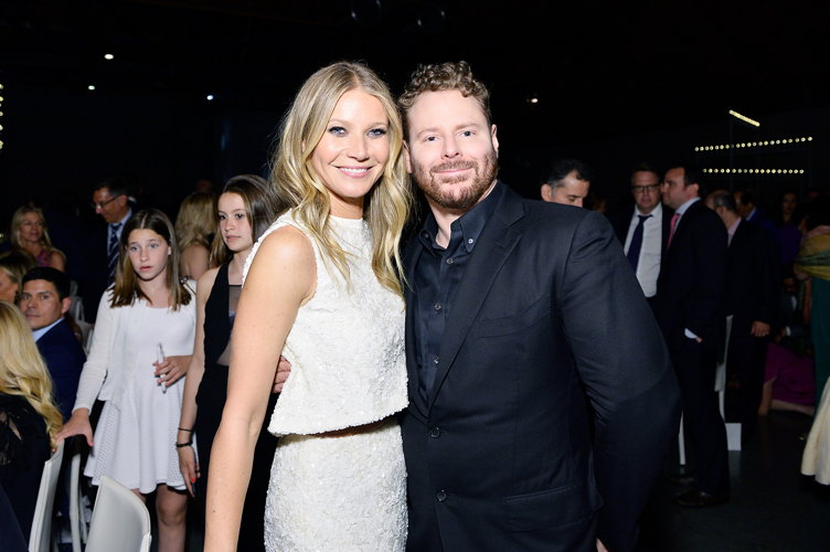 Honorees Gwyneth Paltrow and Sean Parker attend UCLA Mattel Children's Hospital presents Kaleidoscope 5