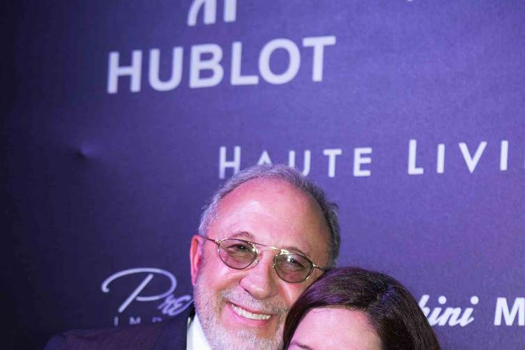 Emilio Estefan and Jacquelynn Powers Maurice