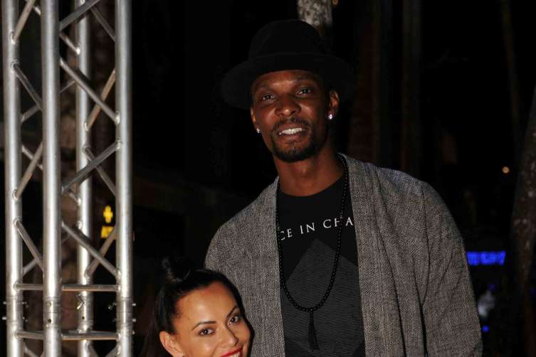 Adrienne Williams Bosh & Chris Bosh