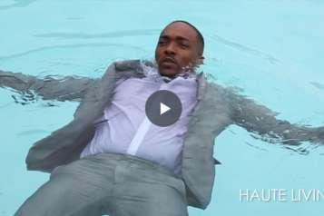 Anthony Mackie BTS Cover Shoot