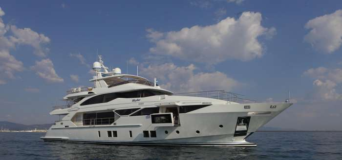 "New Benetti Fast 125 ""Skyler"": When Luxury And Technology Meet"