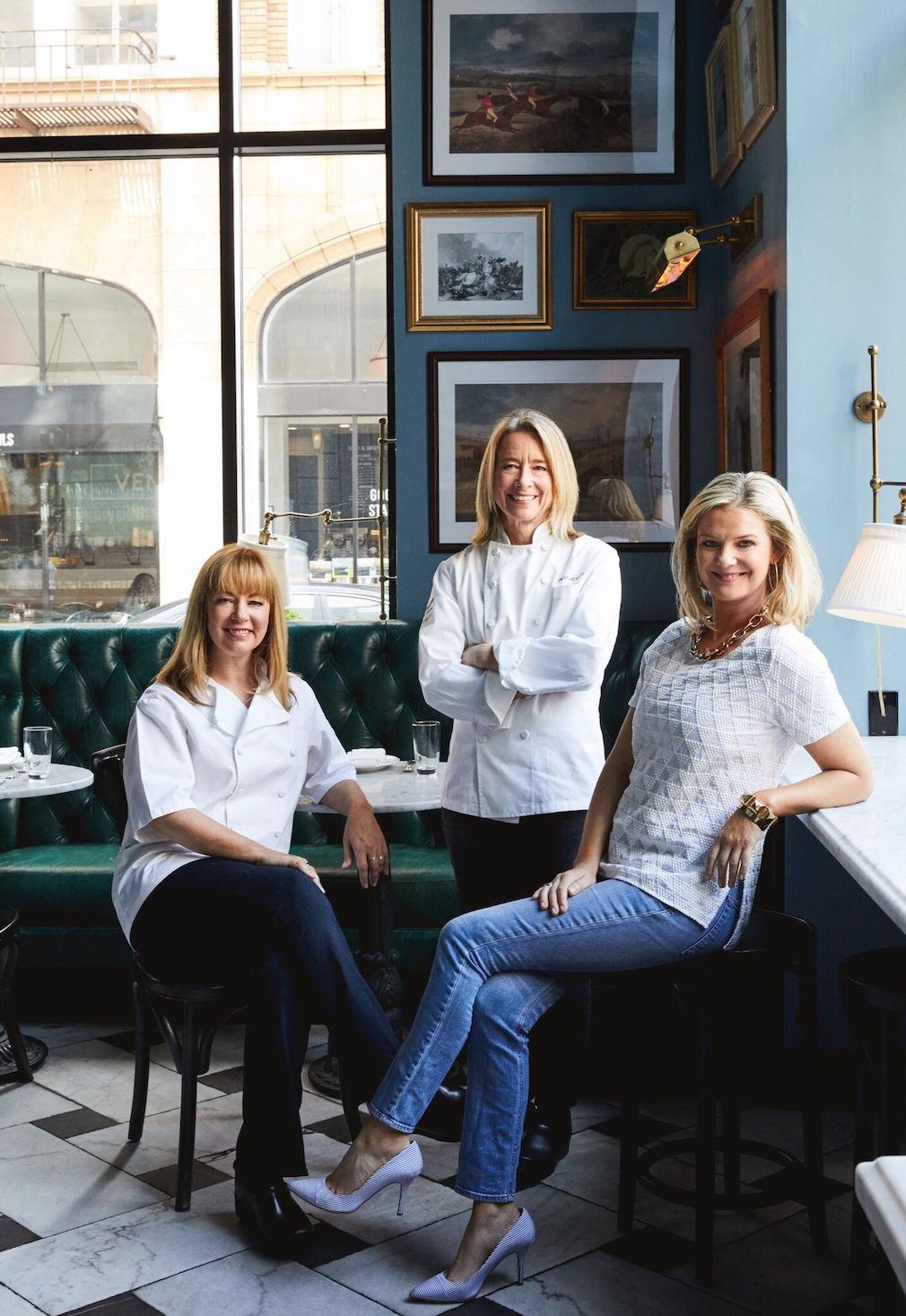 Jennifer Puccio, Emily Luchetti, and Anna Weinberg