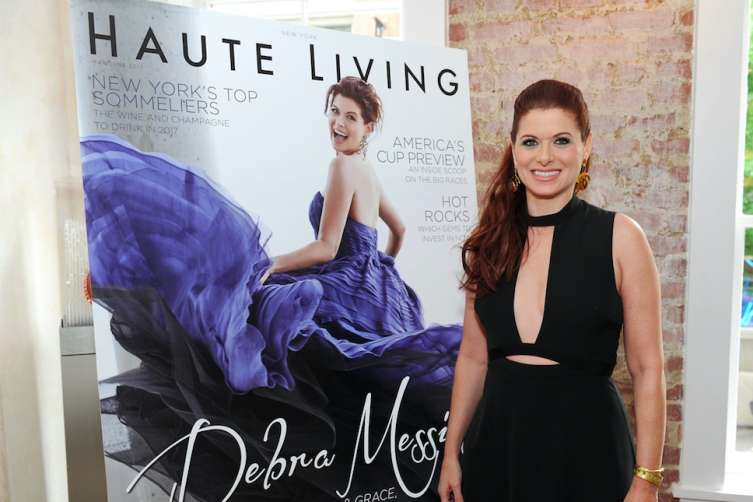 Bertaud Belieu & Haute Living honor Debra Messing
