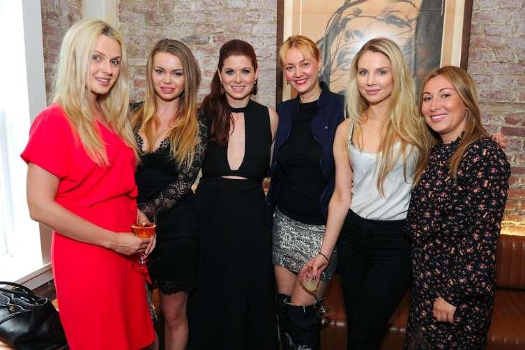 Cover Star, Debra Messing alongside Alisa Roever & Guests