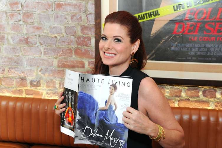 Haute Living Cover Star, Debra Messing