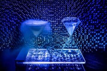 Diamonds Are Forever 2.0- Citrus Vodka Nitro Martini
