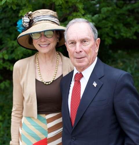 Diana Taylor, Michael Bloomberg_Julie Skarratt