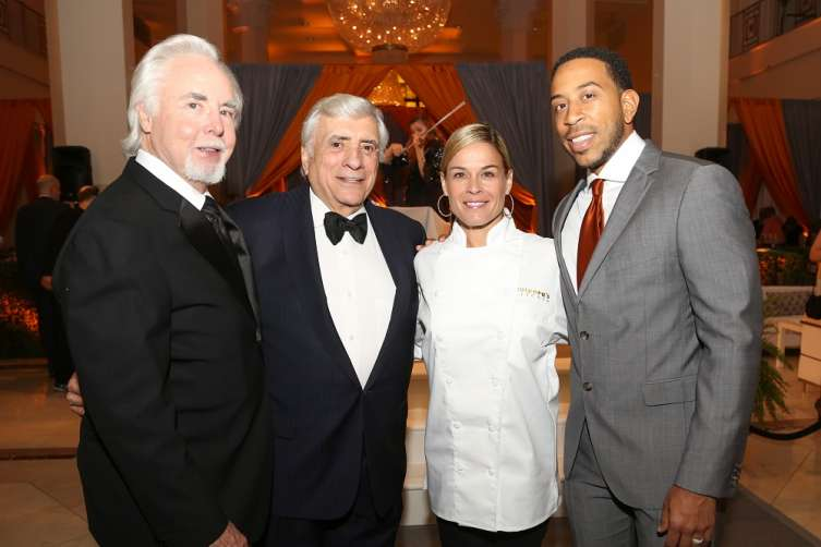 George McKerrow Jr., Pano Karatassos, Cat Cora, Chris Ludacris Bridges