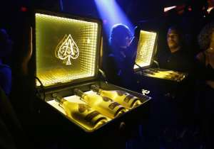 Armand de Brignac Launch of Case of Ace