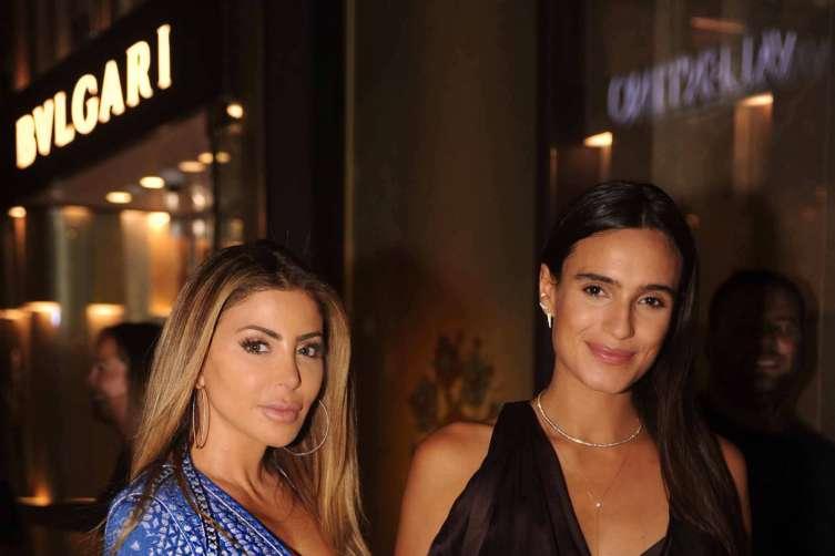 Larsa Pippen and Isabela Rangel Grutman