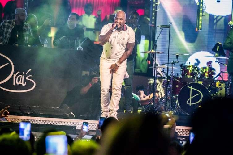 Jeezy performs at Drai's Nightclub.