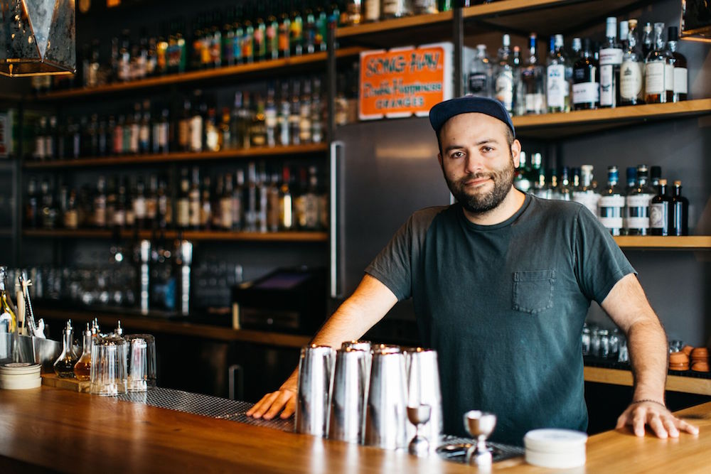 "Over Proof's Eric Ochoa says ""I like the challenge of finding balance in rum cocktails. People often assume that because rum is made from sugar it will always be sweet. It's not always the case."""