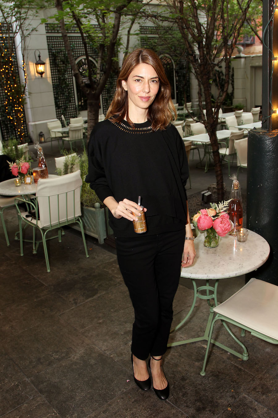 Sofia Coppola at the unveiling of the new Sofia Brut Rose in New York City