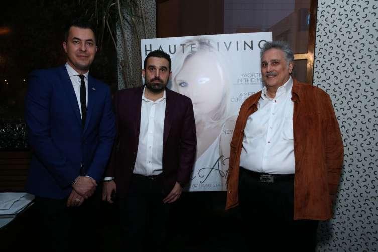 Jason Arasheban, Seth Semilof, Abbas Behbehani