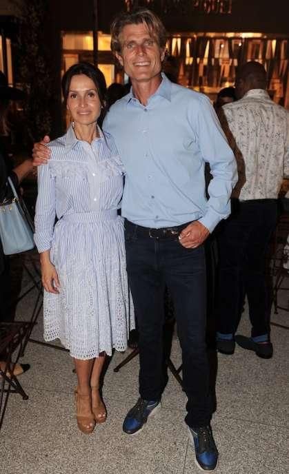 Alina and Anthony Shriver