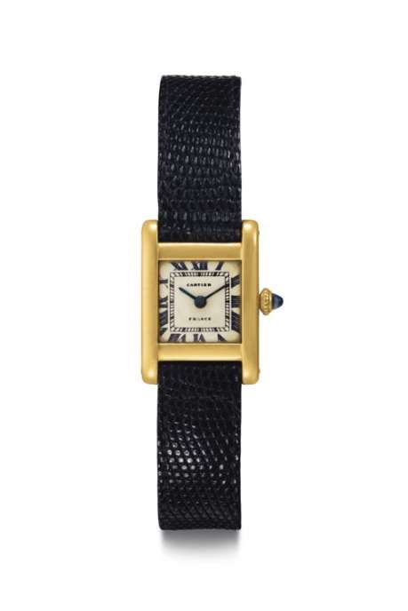The Jacqueline Kennedy Onassis Cartier Tank_Front