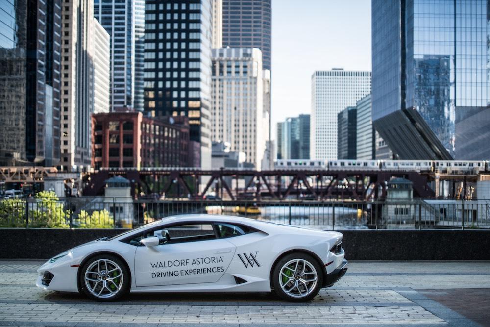 Waldorf Astoria Driving Experience Lamborghini