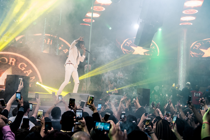 Wiz Khalifa performs at Drai's.
