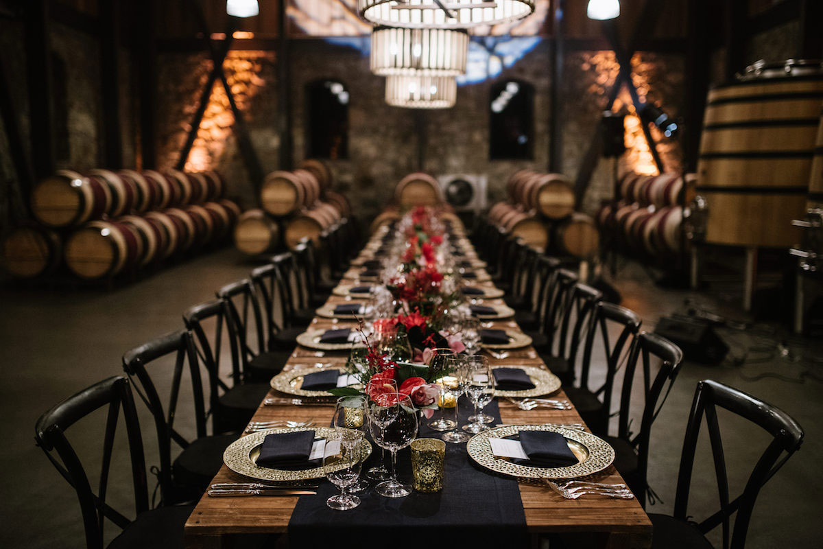 The 2016 Alejandro Bulgheroni Estate vintner hosted dinner