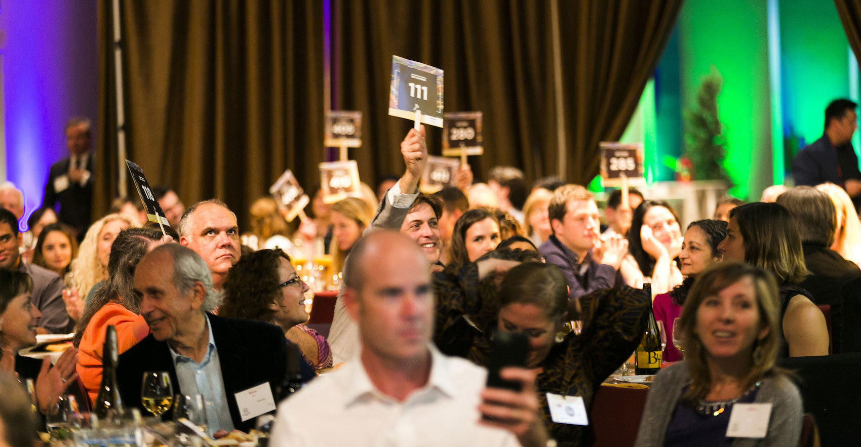 The 2016 live auction