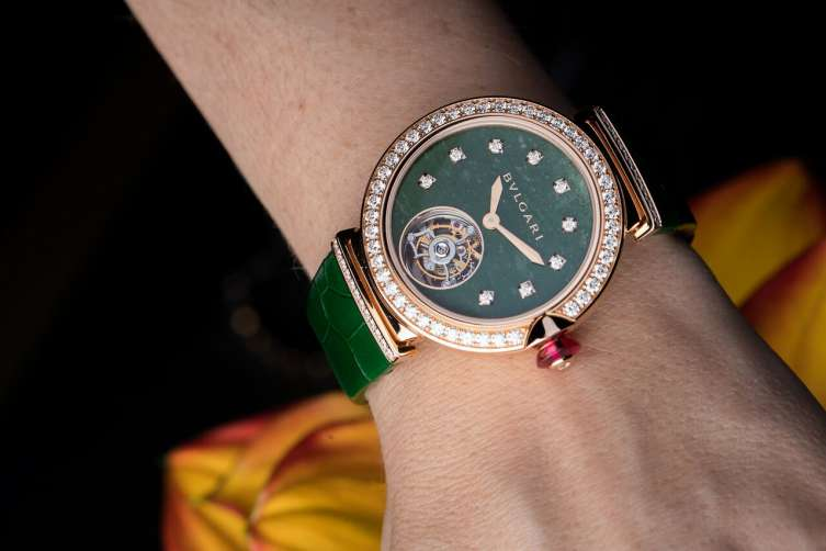 bulgari LVCEA tourbillon