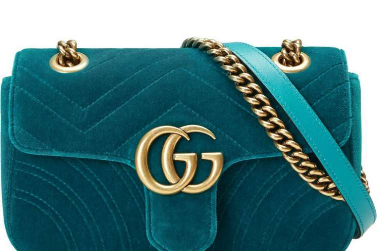 gucci velvet monogram - best bags for summer 2017