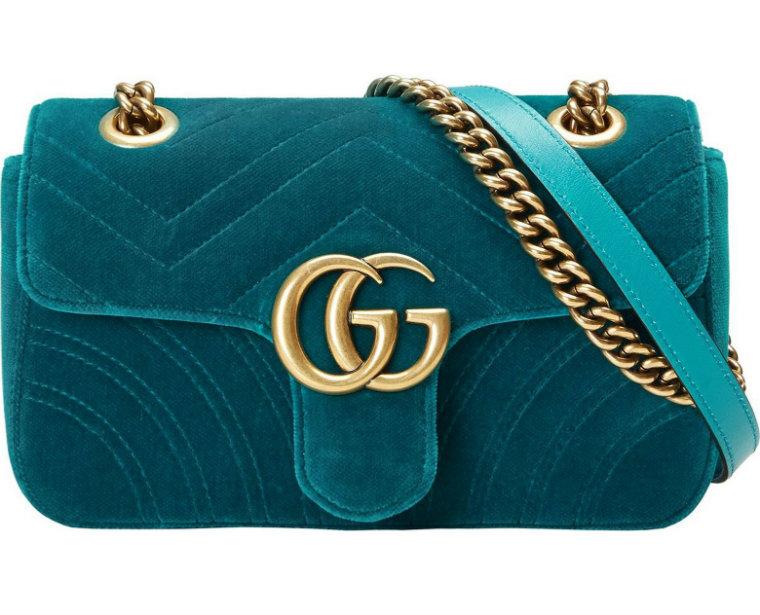 Gucci Velvet Monogram Best Bags For Summer 2017