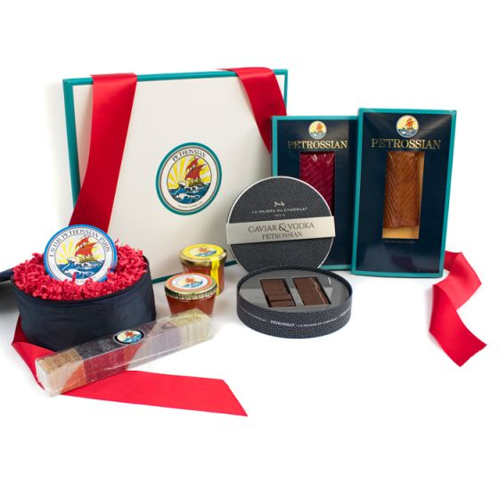 Petrossian Mother's Day trunk