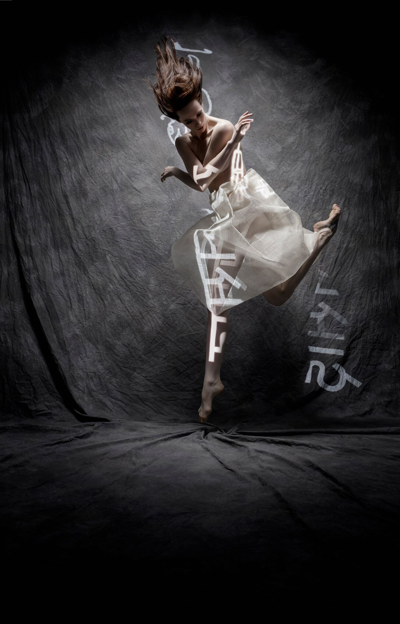 A promotional image for the language-inspired ballet