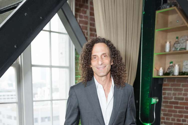 SAN FRANCISCO, CA - June 8 -  Kenny G attends Hana Gin & Kenny G Present an Evening of Great Sax & Smooth Gin on June 8th 2017 at clock tower building in San Francisco, CA (Photo - Drew Altizer)