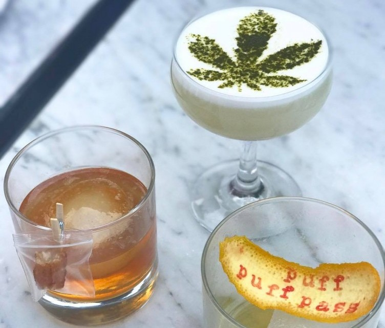 Cannabis cocktails at Gracias Madre