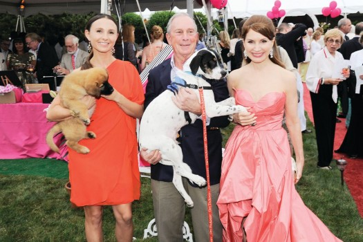 Georgina Bloomberg, Mayor Michael Bloomberg, Jean Shafiroff
