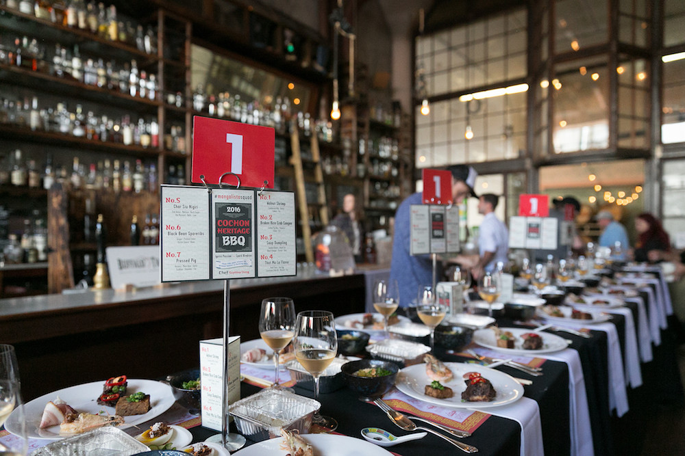The judges table at last year's Cochon555