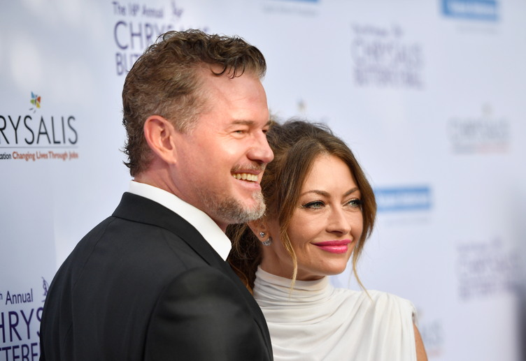 Actor Eric Dane (L) and Chrysalis Butterfly Ball Co-chair Rebecca Gayheart-Dane